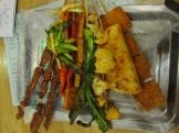 Spicy Skewer Dinner