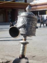 Prayer Wheel at the Stupa