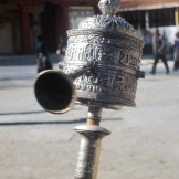 Prayer Wheel at the Stupa