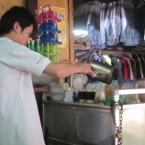 Laos coffee guy